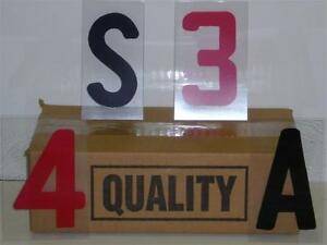 4 Changeable Plastic Outdoor Sidewalk Sign Letters 5 b