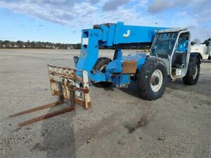2008 Genie Gth 1056 Telescopic Forklift Stock 37730