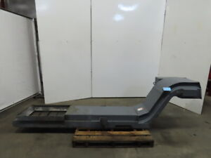 Incline Cleated Chip Conveyor 14 Belt 20 Discharge 4fpm 208 220 3ph