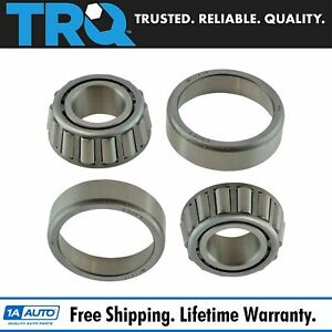 Front Outer Wheel Bearing Race Set Pair For Chevy Gmc Toyota Dodge Mercedes