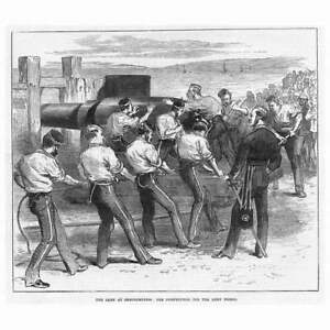SHOEBURYNESS Military Camp Competition for Prizes Antique Print 1871 GBP 9.95