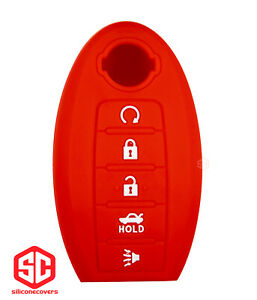1x New Keyfob Remote Fobik Silicone Cover Fit For Select Nissan Vehicles