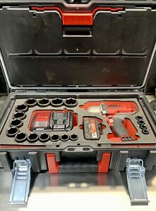 Mac Tools 1 2 Drive 20v Impact Wrench Sae Deep Socket Set