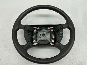 1999 2004 Oem Ford Mustang Charcoal Leather Gt Steering Wheel 99 04 S9155