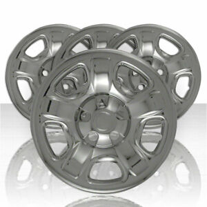 Chrome 02 07 Jeep Liberty 16 Wheel Skins Hub Caps Tire Covers Spare Steel Rim