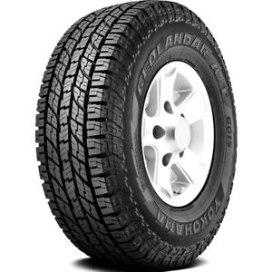 2 New Yokohama Geolandar A t G015 255 65r16 109h At All Terrain Tires