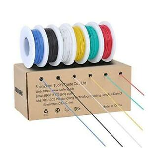 30awg Stranded Wire Kit Flexible Silicone Wire 30 Gauge Tinned Copper 30awg