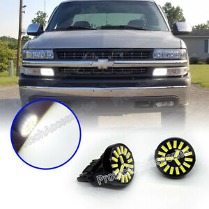 3157 White Led Bulbs Driving Led Daytime Running Light Drl For Chevrolet