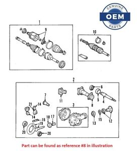 Genuine Front Axle Shaft Differential Housing For Toyota 4runner Tacoma