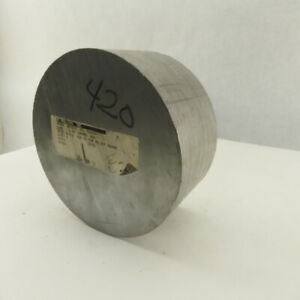 6 1 2 Round Bar Stock 420 Alloy Titanium Surgical Stainless Steel 3 Long