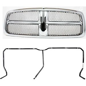 55077185ag 55077186ae New Set Of 2 Grille Grill For Ram Truck Dodge 1500 Pair