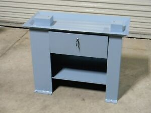 Heavy Duty Steel Cabinet Stand For 9 X 20 Bench Lathe 36 W X 17 D X 28 H