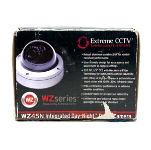Extreme Cctv Surveillance System Wz45n Integrated Infrared Dome Camera