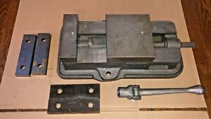Kurt Anglock 6 Milling Machine Vise Two Sets Of Jaws D60