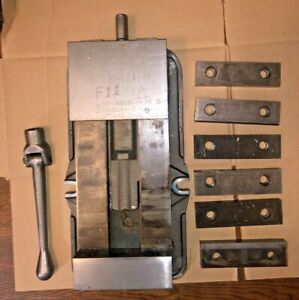 Kurt Anglock 6 Milling Machine Vise Three Sets Of Jaws D675