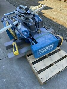 5 Ton Shaw Box Cable Hoist And Trolley With Remote Controls