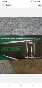 BRAND NEW in box RCBS Rock Chucker Supreme Master Reloading Kit #9354 $699.99