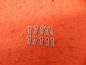 10 57 70 Ford Galaxie Repop Linkage Rod Retainer Pin Clips 353610 s 390 406 427