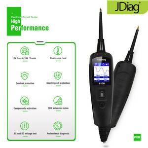 Jdiag Car Power Probe Circuit Tester Electrical System Detector Diagnostic W4p2