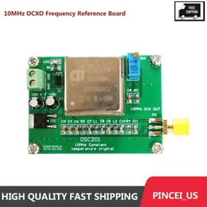 10mhz Ocxo Frequency Reference Board Sine Wave High Stability For Radios Pe66