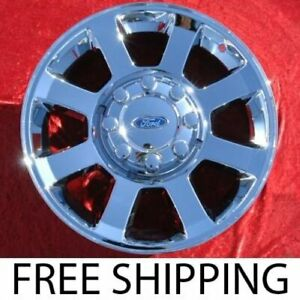 Exchange Set Of 4 Chrome 20 Ford F 250 F 350 Sd Super Duty Oem Wheels Rims 3693