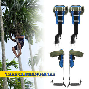 Tree pole Climbing Spike Safety Belt Straps Lanyard Rope Rescue Adjustable Tool