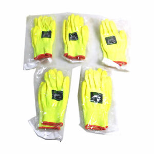 lot Of 5 New Cordova Safety Products 3704 Ion hv Small Cut resistant Gloves