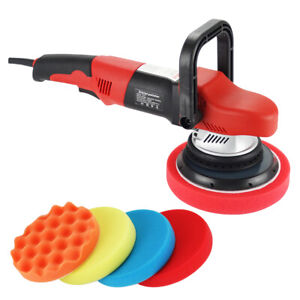 Pro Dual Action Car Polisher Random Orbital Buffer Sander 6 Da Polishing Waxing