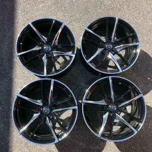Set Of 4 19 Staggered Factory Oem Takeoff Wheel Rim For 2020 2021 Toyota Supra