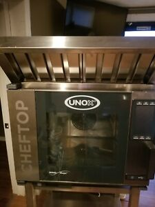 Unox Self Cleaning Steam combi Oven Electric Countertop 5 12 x20 Hotel