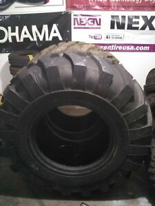 21l 24 R4 Rear Backhoe Tires 2 New