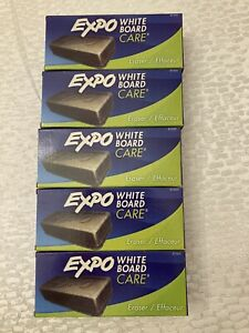 5 pack Expo White Board Care Eraser 81505 Dry Erase Eraser Fast free Shipping