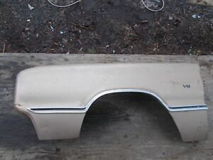 1967 67 Dodge Coronet Charger Left Driver s Fender Nice No Rust