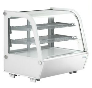 Avantco Bcc 28 hc 27 1 2 White Refrigerated Countertop Bakery Display Case