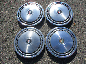 Factory 1980 To 1985 Buick Lesabre Estate Wagon 15 Inch Hubcaps Wheel Covers