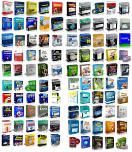 100 Master Resell Rights Software Make Money Online Home Based Business Website