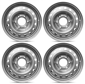 New Set Of 4 16 X 7 Replacement Steel Wheel Rim For 2019 2020 2021 Ford Ranger