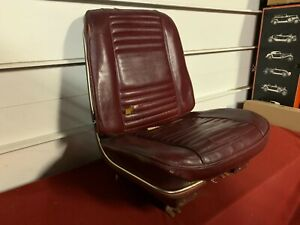 1966 Chevrolet Chevelle Ponitac Gto Olds Cutlass 442 Bucket Seat Lh 66 Gm