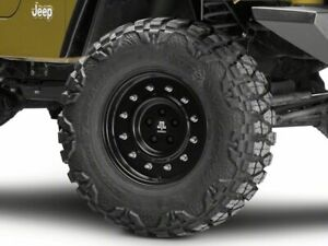 Mammoth General Wheel In Black 16x8 Styling Fits Jeep Wrangler Tj 97 06