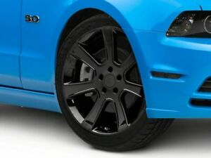 American Muscle Saleen Wheel In Black 20x9 Rim Fits Ford Mustang 2010 2014