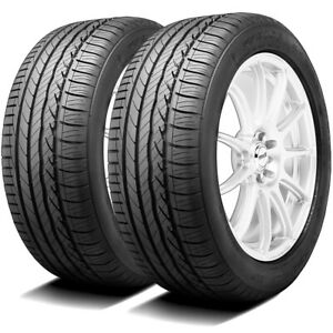 2 New Dunlop Signature Hp 205 55r16 91v A s Performance Tires