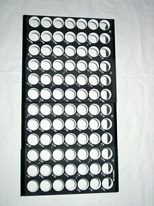 5c All Sizes 64ths set Collet Rack Tray Drawer Or Bench Storage Holder 4bj4x16