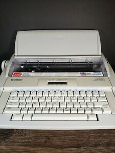 Brother Typewriter Gx 8250 With Original Receipt Instructions Extra Ribbon