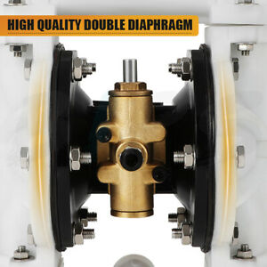 Qby 15 Air operated Double Diaphragm Pump 1 2 Import Export Engineering Plastic