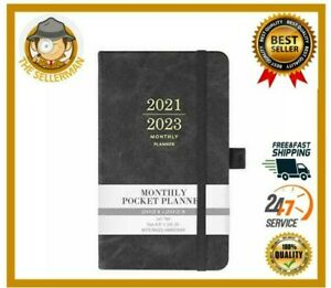 Inner Pocket Long term Planner Organizer 2021 2023 Daily Weekly Monthly Book
