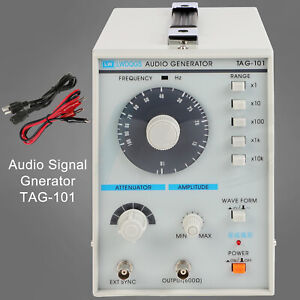 Low Frequency New Digital Signal Generator Audio Tag 101 Sine square