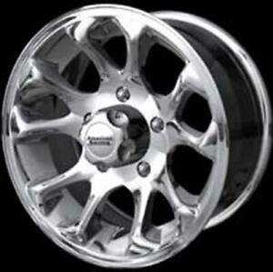 15 Vintage American Racing Polished Burst Wheels Series 113 Jeep 15x8 5x4 75