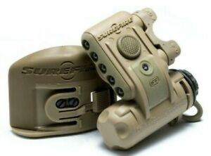 SureFire Tactical Helmet Light HL1 w MICH Mount White Blue Beacon Duty TAN $169.87