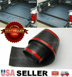 For Toyota Nissan Rubber Truck Bed Tailgate Gap Cover Filler Seal Shield Lip Cap