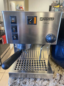 Rancilio Silvia Expresso Machine stainless Steel